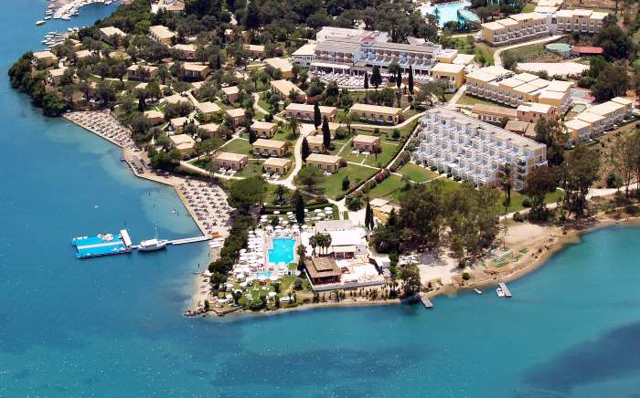 Corfu Airport Transfers- Louis Corcyra Beach Hotel Transfer-Shuttle, Bus, Taxis
