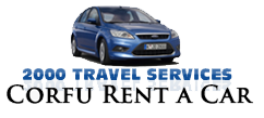 2000 travel services corfu rent a car corfu airport transfers taxi minibus