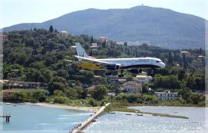 Corfu airport transfers, corfu airport taxi, corfu airport minibus
